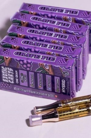 Exotic Carts Grape Pie