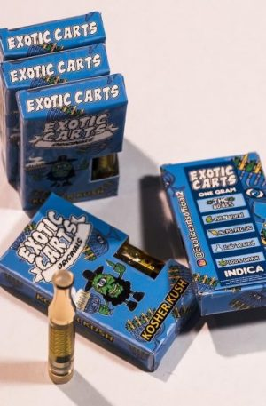 Exotic Carts Kosher Kush