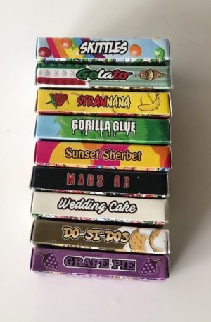 Exotic Carts Flavors