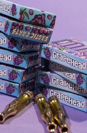 Grape Head Exotic Carts - Fake exotic carts - Exotic Carts