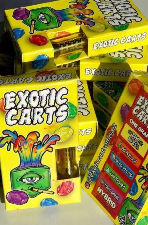 Gushers Exotic Carts