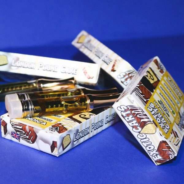Exotic Carts London Pound Cake